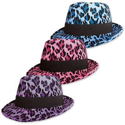 Шляпа фетр Леопард, ассорти 1501-1406