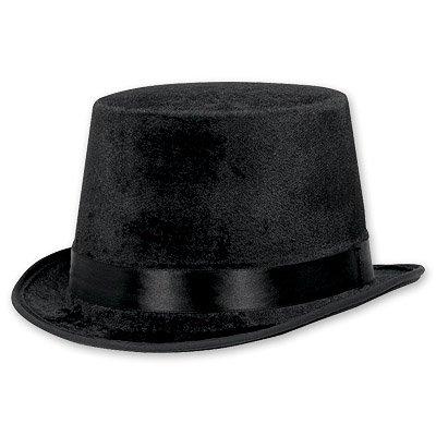 Шляпа велюр Классика, чёрная 1501-1408