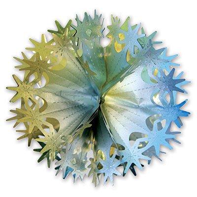 Фигура-Шар Звезды золото/серебро 30 см 1501-1523