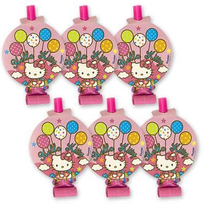 Язык-гудок с картинкой Hello Kitty 8шт 1501-1615