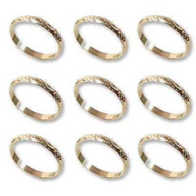 Кольцо Обручальное алюмин золотое 288штА 1501-1678