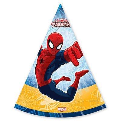 Колпаки Marvel Человек-Паук, 6 штук 1501-1705