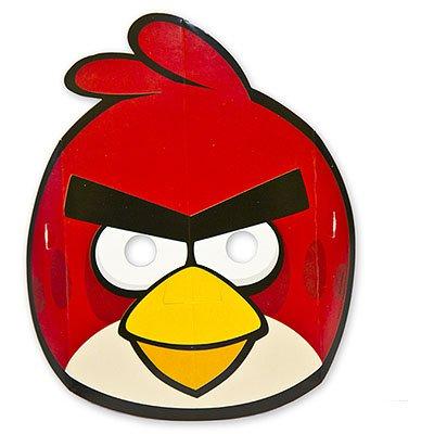 Маски Angry Birds бумажные, 8 штук 1501-1881