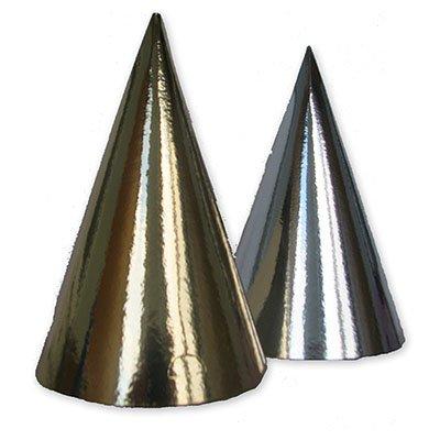 Колпаки фольгированные золото/серебро 1501-1896