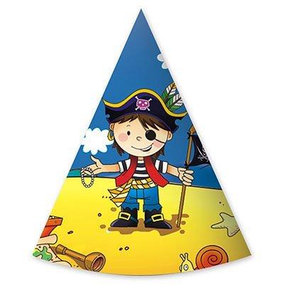 Колпак на день рождения в пиратском стиле, 6 штук 1501-1904