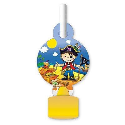 Язык-гудок Маленький пират, 6 штук 1501-1909