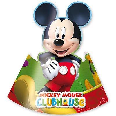 Колпачки на День Рождения Микки Маус, 6 штук 1501-2047