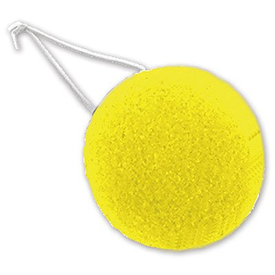 Клоунский носик большой желтый 1501-2090
