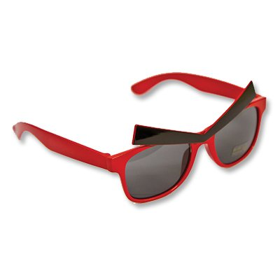 Очки Злые Брови красные 1501-2118