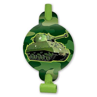 Язык-гудок Камуфляж, 8 штук 1501-2151