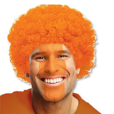 Парик рыжий карнавальный из искусственных волос 1501-2177