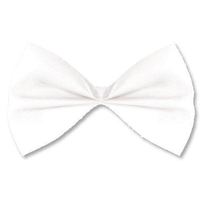 Галстук-бабочка белый 1501-2240
