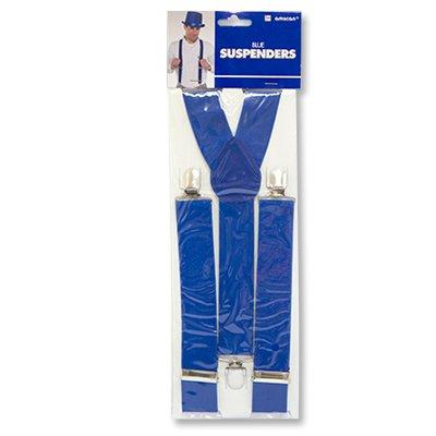 Подтяжки синие мужские/женские 1501-2243