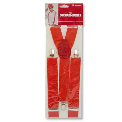 Подтяжки красные для мальчиков или девочек 1501-2244