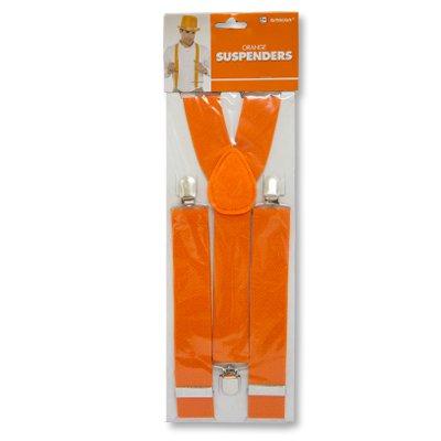 Подтяжки оранжевые для детей и взрослых 1501-2246