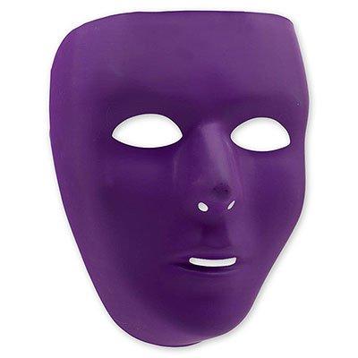 Маска пластиковая фиолетовая 1501-2270