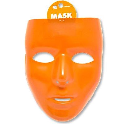 Маска пластик оранжевая 1501-2273