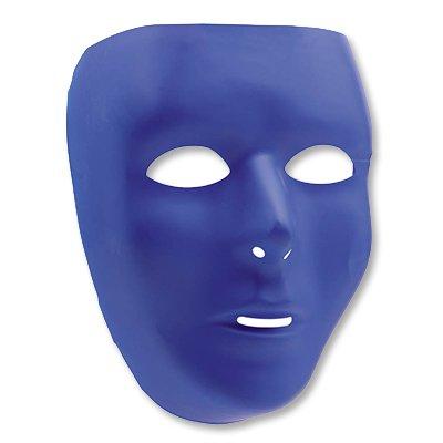 Маска пластик синяя/А 1501-2274