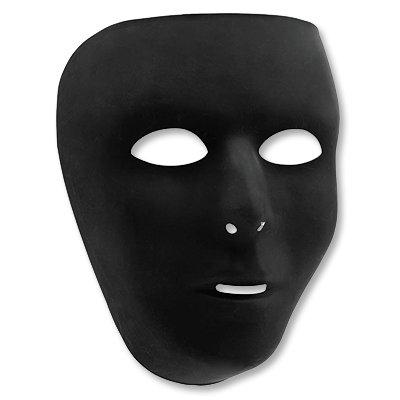 Маска пластиковая черная 1501-2275