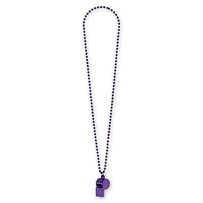 Свисток на бусах фиолетовый 1501-2285