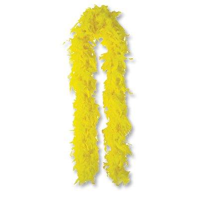 Боа желтое, 180 см 1501-2295