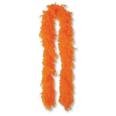 Боа оранжевое, 180 см 1501-2296