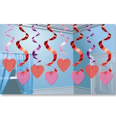 Спираль Сердце, 46-60 см, 15 штук 1501-2427