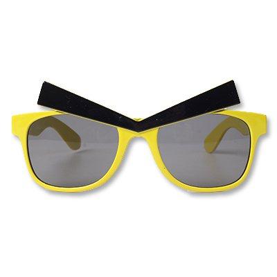 Очки Злые Брови желтые/G 1501-2431