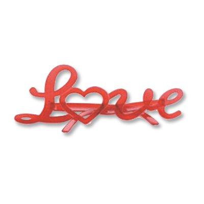 Очки Love Любовь красные/G 1501-2432