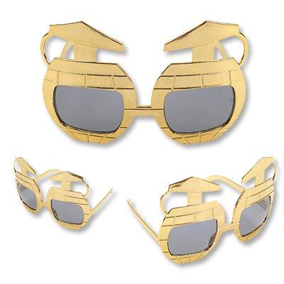 Очки Гранаты, золотые 1501-2435
