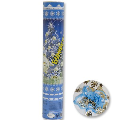 Хлопушка бумфети Зимняя сказка,30 см 1501-2543