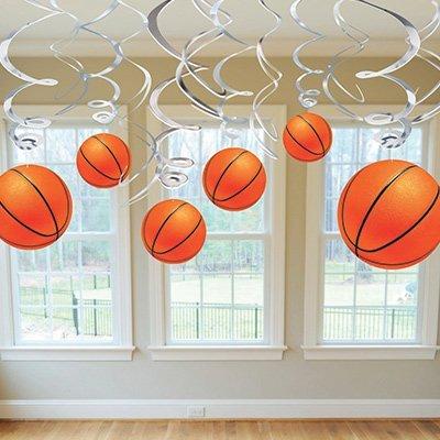 Спираль Баскетбол, 46-60 см, 12 штук 1501-2614