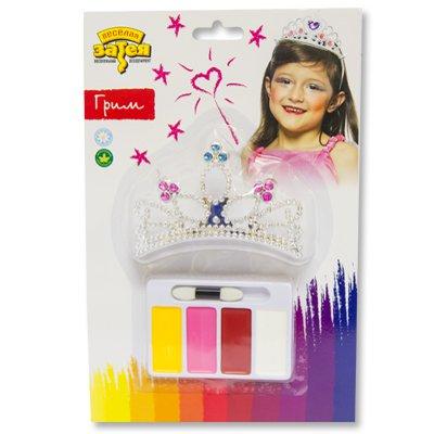 Набор грима Принцесса 4 цвета+ тиара 1501-2686