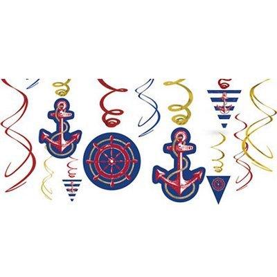 Спирали Морские 46-60 см, 12 штук 1501-2730