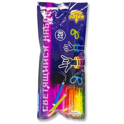 Светящийся набор неоновых палочек, 20 штук 1501-2738