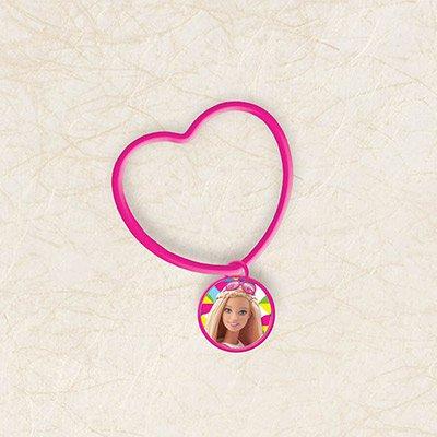 """Розовый браслет для девочек """"Барби"""" 1501-2740"""