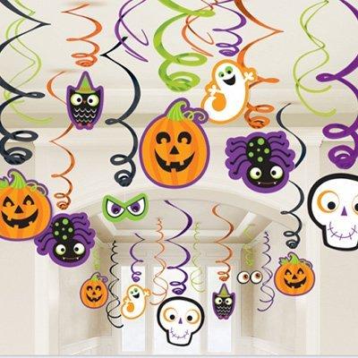 Спирали Забавный Хэллоуин, 30 штук 1501-2819