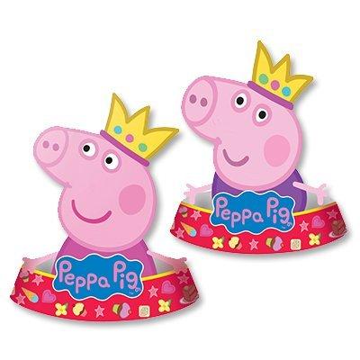 Колпачки фигурные Пеппа, 6 штук 1501-2838