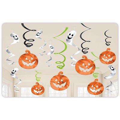 Спирали HNW Забавный Хэллоуин, 12 штук 1501-3239