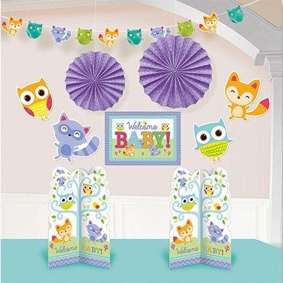 Декор-комплект Welcome Baby Зверята,10шт 1501-3251