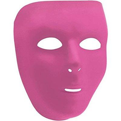 Маска пластиковая розовая 1501-3393