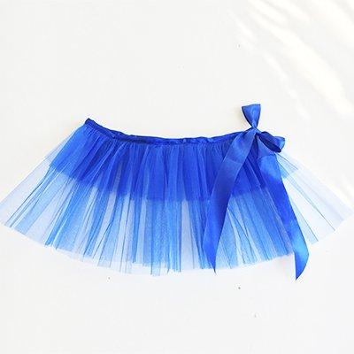 Юбка-пачка (туту) детская синяя 1501-3475
