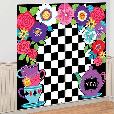 Декорация Безумное Чаепитие, 171 165 см 1501-3689