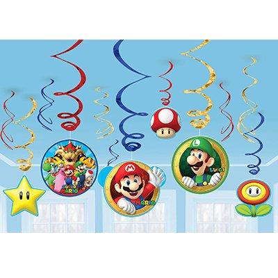 Спирали Супер Марио, 46-60 см, 12 штук 1501-3941