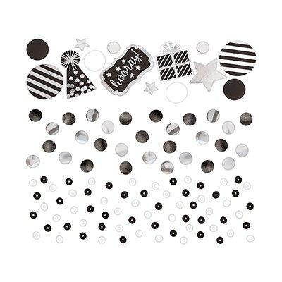 Конфетти HB Black&White, 3 вида, 34 гр 1501-3982