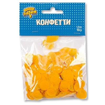 Желтое конфетти 10 гр 1501-4081