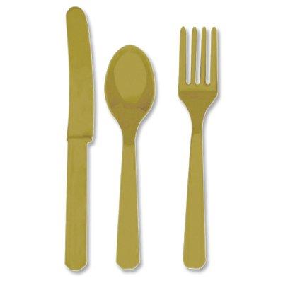 Столовые приборы золото Gold, 8 персон 1502-0287