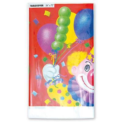 Скатерть Клоун с шарами 140х180см 1502-0461