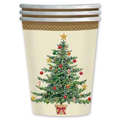 Стакан бумажный Елка Рождество, 8 шт. 1502-0795