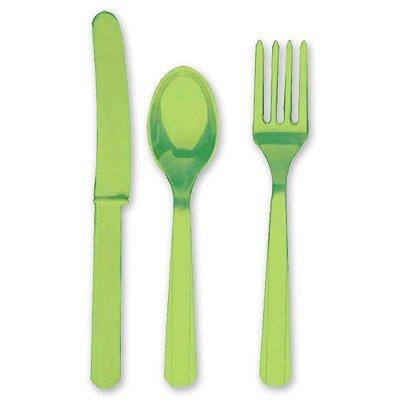 Столовые приборы зеленые Киви, 8 персон 1502-0904